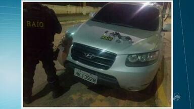 Polícia recupera no Crato carro roubado na Paraíba - Saiba mais em g1.com.br/ce