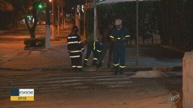Vazamento de gás assusta moradores da Avenida Princesa d´Oeste, em Campinas - Corpo de Bombeiros e Emdec foram acionados.