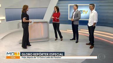 Globo Repórter Especial 50 anos da Globo em Minas será exibido nesta sexta-feira - Os repórteres Ismar Madeira, Liliana Junger e Ricardo Soares comentam a produção do programa que conta a história de 50 anos da Globo em Minas Gerais.