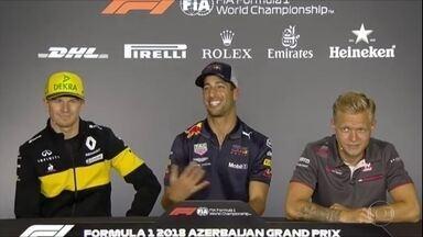 O campeão do carisma na F1 - O campeão do carisma na F1