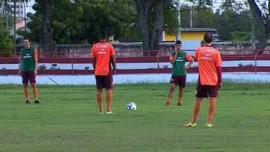 Série D: Sergipe se prepara para jogo contra o Central neste domingo em Caruaru - Série D: Sergipe se prepara para jogo contra o Central neste domingo em Caruaru