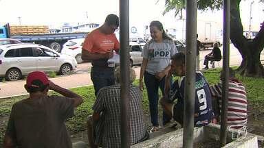 População morando na rua ultrapassa 800 pessoas em Santarém, diz Semtras - Os dados são de um levantamento de Secretaria Municipal de Trabalho e Assistência Social, por meio dos atendimentos feitos no Centro Pop.
