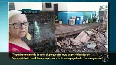 Veja denúncias e flagrantes enviados por telespectadores ao Jornal Tapajós - Envie fotos, vídeos e sugestões de pautas para (93) 99122 9460.