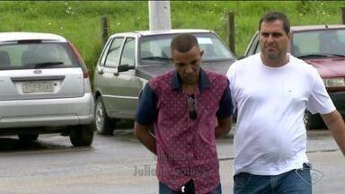 Namorado é preso e confessa assassinato de jovem em Linhares, ES - Chayene Rosa foi morta com um tiro na cabeça, na casa do suspeito. Ele foi encaminhado ao presídio.