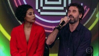 Eriberto Leão relembra participação na primeira temporada do 'Show dos Famosos' - Ator fala sobre seu papel em 'O Outro Lado do Paraíso'