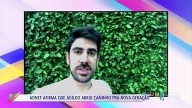 Humoristas se desepedem de Agildo Ribeiro - Fabiana Karla e Marcos Veras lamentam a morte do comediante. Pedro Farah relembra último encontro com Agildo quando o 'Vídeo Show' recriou clássico quadro de humor