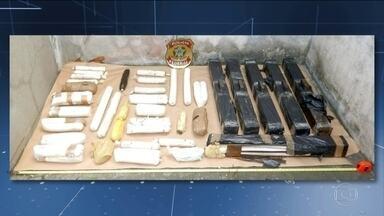 Polícia Federal apreende 71 quilos de quilos de explosivos em Salvador - Os investigadores suspeitam que os explosivos seriam usados para ataques a caixas eletrônicos