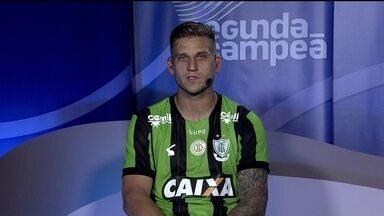 Rafael Moura comenta boa fase do América-MG no Campeonato Brasileiro