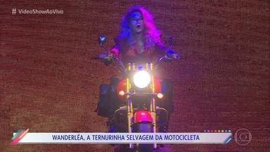 Wanderléa estrela documentário musical sobre a Jovem Guarda - O 'Vídeo Show' mostra os bastidores do espetáculo