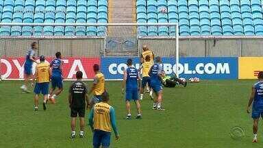 Grêmio e Cerro Porteño se enfretam na Arena pela Libertadores nesta terça-feira (1) - Assista ao vídeo.