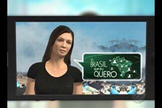 Que Brasil você quer para o futuro? Saiba como enviar o seu vídeo - Veja como é fácil enviar.
