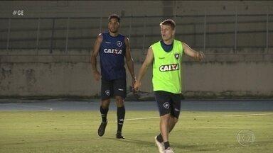 João Pedro treino com novos companheiros no Botafogo - João Pedro treino com novos companheiros no Botafogo.