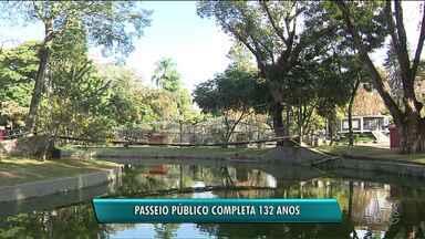 Passeio Público completa 132 anos - É o parque mais antigo da capital e guarda muitas histórias.
