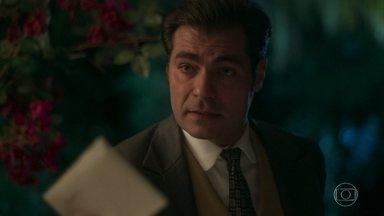 Darcy pede que Lídia entregue sua carta a Elisabeta - Lídia promete fazer a mensagem chegar à irmã