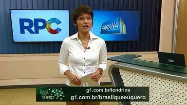 Grave um vídeo dizendo que Brasil você quer para o futuro - Ainda dá tempo para que moradores de Lupionópolis, Nova Santa Bárbara e Santa Mariana participem da campanha.