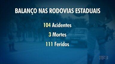 No feriado, PRF flagra mais de onze mil motoristas dirigindo acima da velocidade permitida - Motoristas também foram flagrados por beber e dirigir
