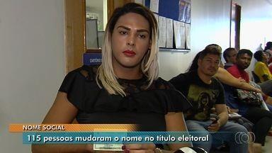 Nome social pode ser inserido no título de eleitor em Goiás - 115 pessoas já mudaram o nome no documento.
