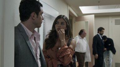 Sophia tem AVC, e Gael e Lívia se recusam a cuidar da mãe - Os dois filhos surpreendem Samuel com atitude. Estela se oferece para cuidar da mãe, e Bruno pede que Estevão as acompanhe