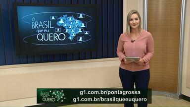 Participe da Campanha: Brasil que eu quero - O seu vídeo pode aparecer nos jornais da Rede Globo