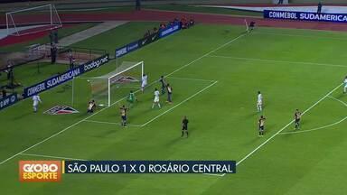 Sul-americana: São Paulo e Botafogo avançam à próxima fase - Tricolor paulista vence o Rosário Central. Cariocas empatam com o Audax Italiano e também levam vaga.
