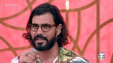 Juliano Cazarré fala sobre o retorno de Mariano em 'O Outro Lado do Paraíso' - O 'Encontro' discute o tema principal da novela, a vingança e a lei do retorno