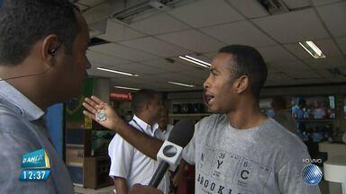 Ladrão é abordado durante assalto na região da Calçada, em Salvador - Um homem conseguiu impedir a ação do bandido.