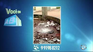 Quadro Você no ABTV mostra problemas em Surubim - Moradores reclamam de desperdício de água.