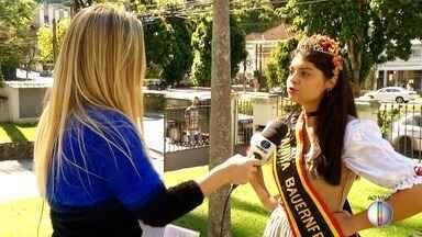 Inscrições para concursos de Rainha e Princesas da Bauernfest são abertas em Petrópolis - Assista a seguir.