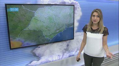 Confira a previsão do tempo para a região no fim de semana - Confira a previsão do tempo para a região no fim de semana