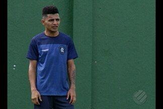 Lateral Nininho é apresentado no Remo - Jogador chega ao Leão com o objetivo de ajudar a equipe na disputa da Série C do Brasileiro
