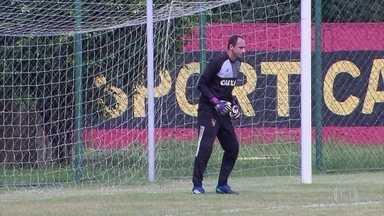 Magrão está de volta ao gol do Sport diante do Cruzeiro - Do outro lado, Rafael Marques já treinou com grupo rubro-negro