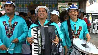 Esquenta do São João: GE promove gincana junina no bairro da Liberdade - Quadro reúne cinco moradores do bairro que estarão os melhores forrozeiros da Bahia.