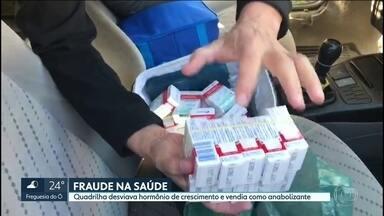 Quadrilha desviava hormônio de crescimento distribuído pelo Estado - O medicamento indicado para crianças com deficiência de crescimento era vendido como anabolizante