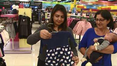 Dia das mães: comércio de Cascavel espera aumento nas vendas em relação ao ano passado - As lojas da cidade ficam abertas até mais tarde neste sábado.