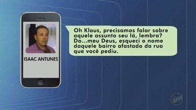 Conversas mostram que vereador era amigo de advogado investigado na Operação Têmis - Isaac Antunes é suspeito de ter prometido limpar nome de inadimplentes e de ajudar esquema de fraudes judiciais de R$ 100 milhões.