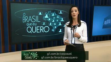 Que Brasil moradores de Campo Bonito querem para o futuro? - Grave um vídeo e mande o seu recado para o país inteiro ver.