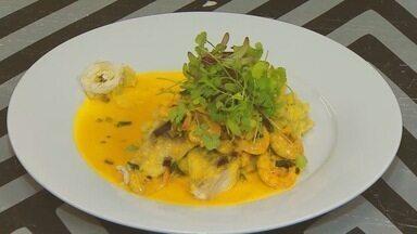"""Menu: Chef cria receita inspirada na novela Segundo Sol - """"Peixe para Luzia voltar"""" mistura diversos elementos da gastronomia baiana"""