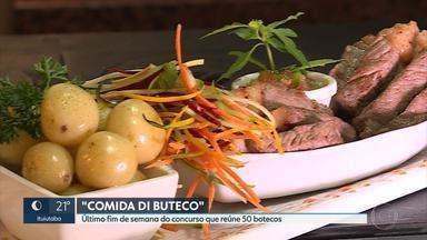Festival Comida Di Buteco termina neste fim de semana - O que não falta é opção para que gosta de tira-gosto. Cinquenta bares participam do concurso.