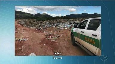 Ibama multa mais dois homicídios do Sul do ES por descarte irregular de lixo - Multas foram em Iúna e Irupi.