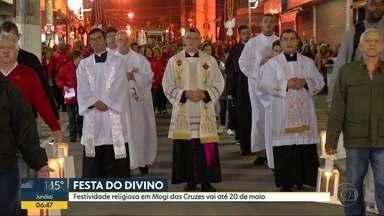 Festa do Divino Espírito Santo vai até domingo (20) em Mogi das Cruzes - Festividade religiosa é uma das mais tradicionais do Estado.