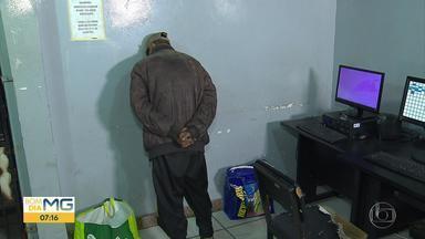 Homem é preso suspeito de furtar cabos de energia em estação do Move, em BH - Segundo a Guarda Municipal, ele já foi detidos outras vezes por tráfico de drogas e furto.
