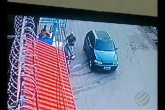 Polícia abriu inquérito para investigar a tentativa de homicídio contra um PM baleado - Segundo a polícia, dois homens chegaram em uma moto e o garupa atirou na vítima pelo menos duas vezes.