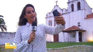 Campanha 'Selfie no Mart' é lançada em Cabo Frio para marcar Dia Internacional dos Museus - Foto no Museu de Arte Religiosa e Tradicional deve ser compartilhada nas redes sociais.