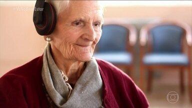 Projeto 'Música para despertar' ajuda pacientes com Alzheimer a resgatar as memórias - O projeto mostra como a música ajuda pacientes com Alzheimer a resgatar as memórias.