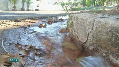 Problemas no abastecimento de água - Problemas no abastecimento de água
