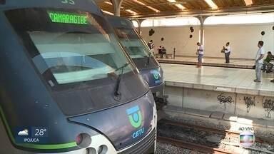 Dois PMs morrem atropelados por metrô no Recife - Eles estavam à procura de bandidos que agiam nas imediações do bairro de São José