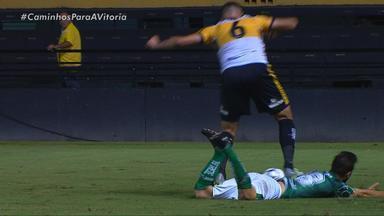 Em jogo de expulsões, Juventude fica no 0 a 0 com o Criciúma - Partida ocorreu no Heriberto Hulse, em Santa Catarina.