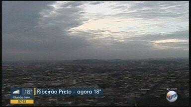 Veja previsão do tempo nesta quinta-feira (17) em Ribeirão Preto, SP - Temperatura máxima chega a 30°C.