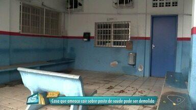 Moradores reclamam de fechamento de posto de saúde em Paul, em Vila Velha, ES - Posto foi fechado porque construção atrás do local pode colocar o local em risco.