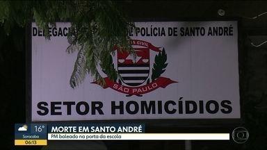 Ex-policial é morto na porta da escola da filha no ABC - Polícia investiga se foi execução.